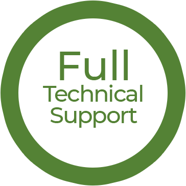 Full technical support